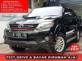 Toyota Fortuner G VNT 2.5 Diesel Thn 2013 TDP 29 jt Good Condition