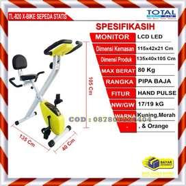 Alat Fitnes Sepeda Statis Magnetik X Bike TL 920 Total Fitness