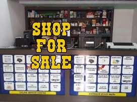 Shop for sale at manur othukkungal