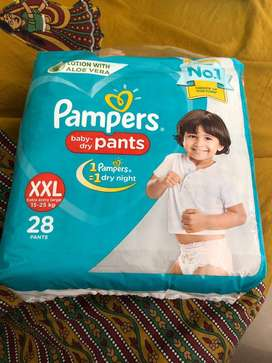 Xxl pampers baby dry pants