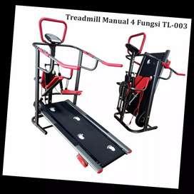 jual treadmill manual 5 fungsi tredmill C-644 sepeda statis yogyakarta