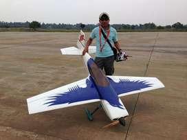 Pesawat Rc Aeromodelling Engine - RAVEN 50cc DLE 55 RA EG Aircraft
