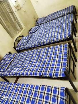 4 sharing room men's hostel  with food 5500rs at T Nagar