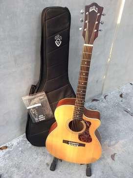 Gitar Akustik Guild OM240CE not Epiphone, Takamine, Cort, Yamaha