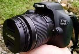 Canon 1300d DSLR Camera for sale.