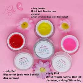 JGlow skincare Red dan pink Jelly