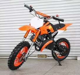 *Kids(5 to 15 yrs)50cc 2 stroke dirt bikes*