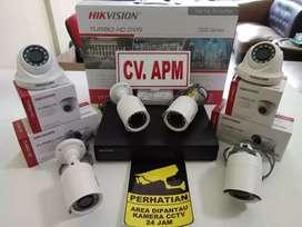 cctv hikvision terbaru paket 4kamera,4ch,2mp di banyusari karawang kab