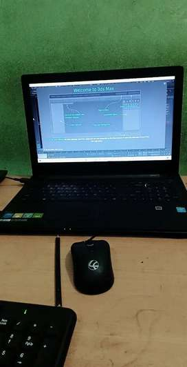 Lenovo laptop with mouse
