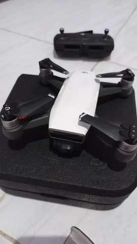 Drone Dji Spark Unit + Box batre 2