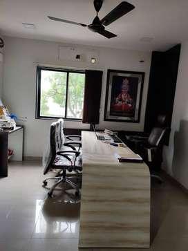 new road facing office for sale in signet hub o p road, vadodara