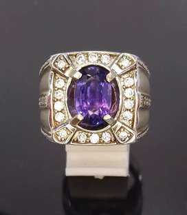 Natural Color Change Sapphire Srilanka clean