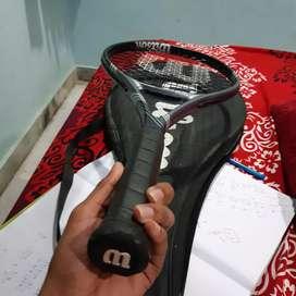 Wilson's tennis racket