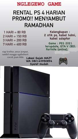 Sewa PS 4 harian