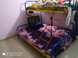 Beautiful 3 tier bunker bed for sale.