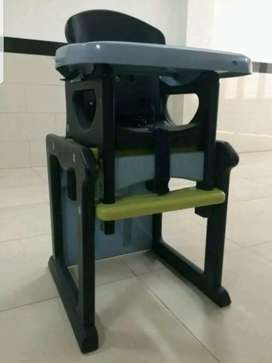Baby High Chair 2 in 1 Function