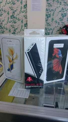 Iphone 6s+ 64gb new distri 1thn Free powerbank bisa kredit cicilan 0%