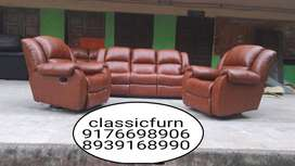 brand new high look full set recliner sofa