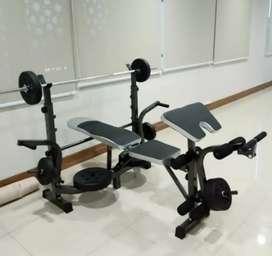 Best alat olahraga fitness bench press baru bisa COD