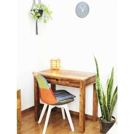 Study Table. Basic design and perfect for small space. Sheesham Wood.