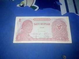 Uang kuno 1rupiah