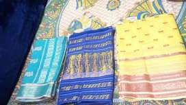 3 sari... New Condition.. Each rs.150
