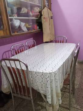 Attractive Glass top dinning table