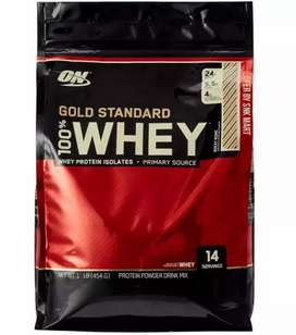 ON 100% Whey Protein Powder, Double Rich Chocolate 1 Pound 454g