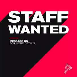Want a staff for mobile shop and studio