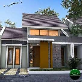Rumah minimalis modern di Pandowan, Galur [FB 61]