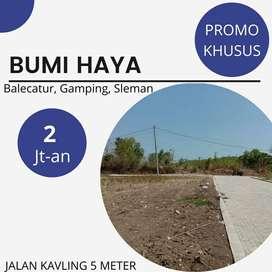 Tanah Kavling Murah Dekat Jalan Wates Dekat Tanah Kota