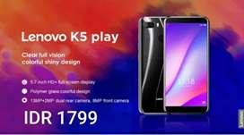 SALE Lenovo K5 Play 3/32 BNIB grs resmi 1th cod Bdg kota Free Ongkir