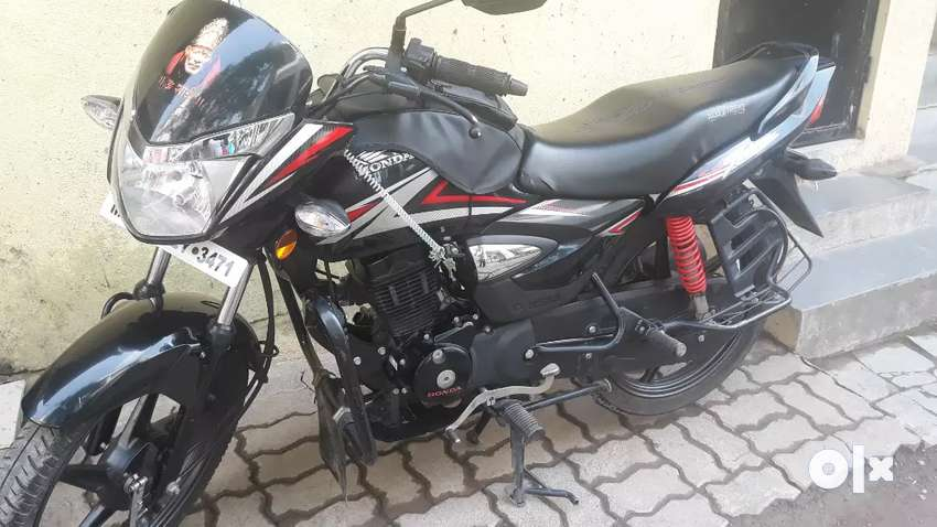 Brand new condition cb shine single owner 0