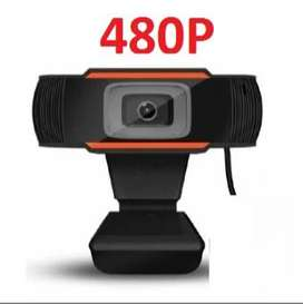 Webcam 480p with Built In Mic Square