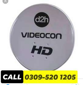 HD dish antenna provide the sarviss free home delivery