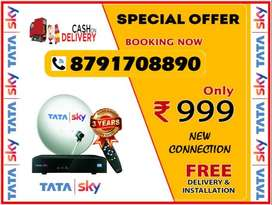 Tata Sky Very Good Service & Airtel TV Dth All india Cash On delivery