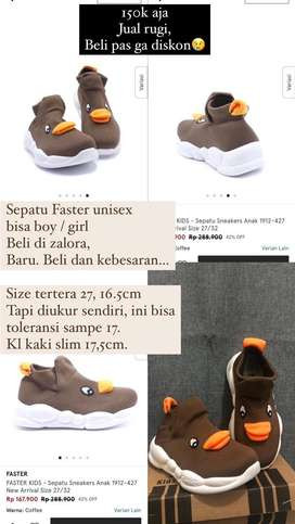 Sepatu anak merk faster (zalora)