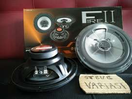 "Speaker Coaxial 6"" Fire 2 LM Audio Tweeter Nyatu by Steve Variasi Olx"