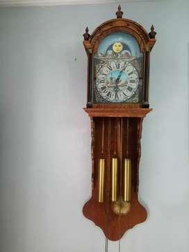 Jam moonphase friese clock bandul kuno unik antik junghans mauthe fiag