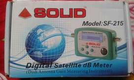 Digital setellite db meter Model:-215 new