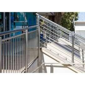 Stenlis steel,balkon,reling tangga dan pagar minimalis