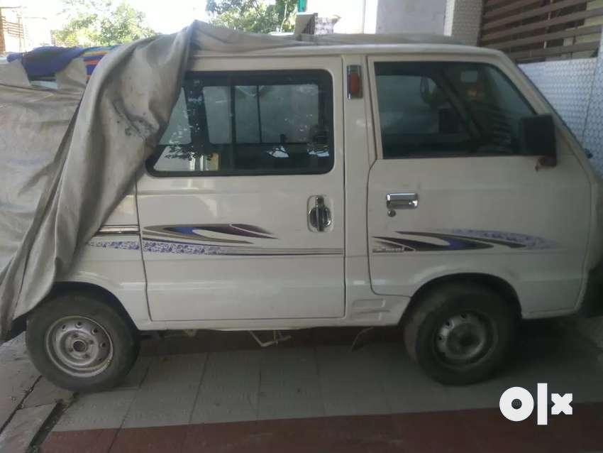 12000/month Maruti Suzuki Omni 2017 CNG 34000 Km available on (Rent) 0