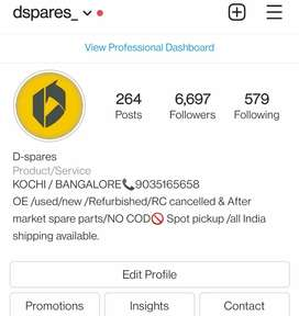 Dspares Bangalore/Kochi dealing with New/Used/imported