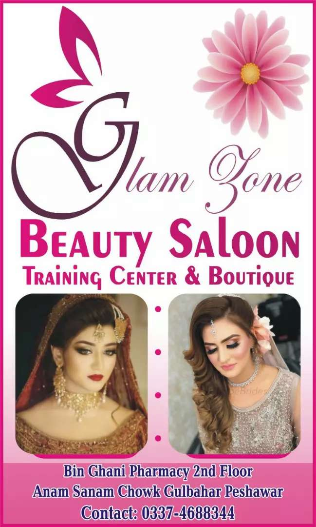 Expert beautician for glam zone beauty salon at anm sanam chok gulbhar 0