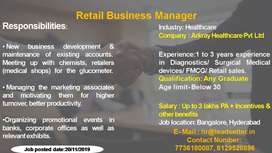 RETAIL BUSINESS MANAGER