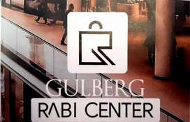 Gulberg Rabi center mobile market front+corner shop for sale