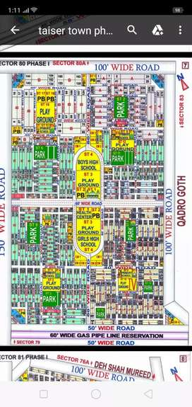 Taiser Town phase one sector 80 400 yard