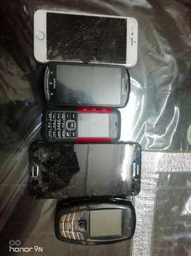 5 phones dead condition