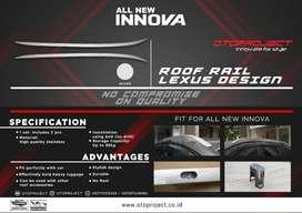Roffrail  All New INNOVA16 model LEXUS Silver^^KIKIM VARIASI^^
