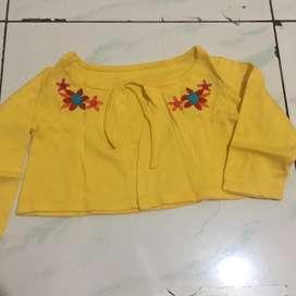 Preloved cardigan baby 12-18 bulan